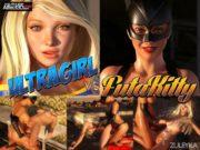 Zuleyka – Ultragirl Vs Futakitty- Affect3D porn comics 8 muses