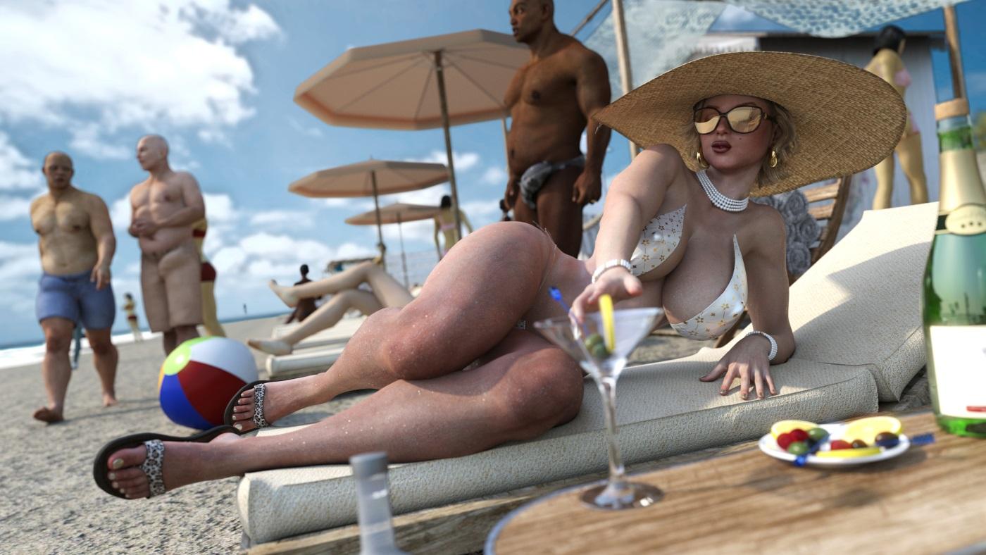 zz2tommy – Beach Bum porn comics 8 muses