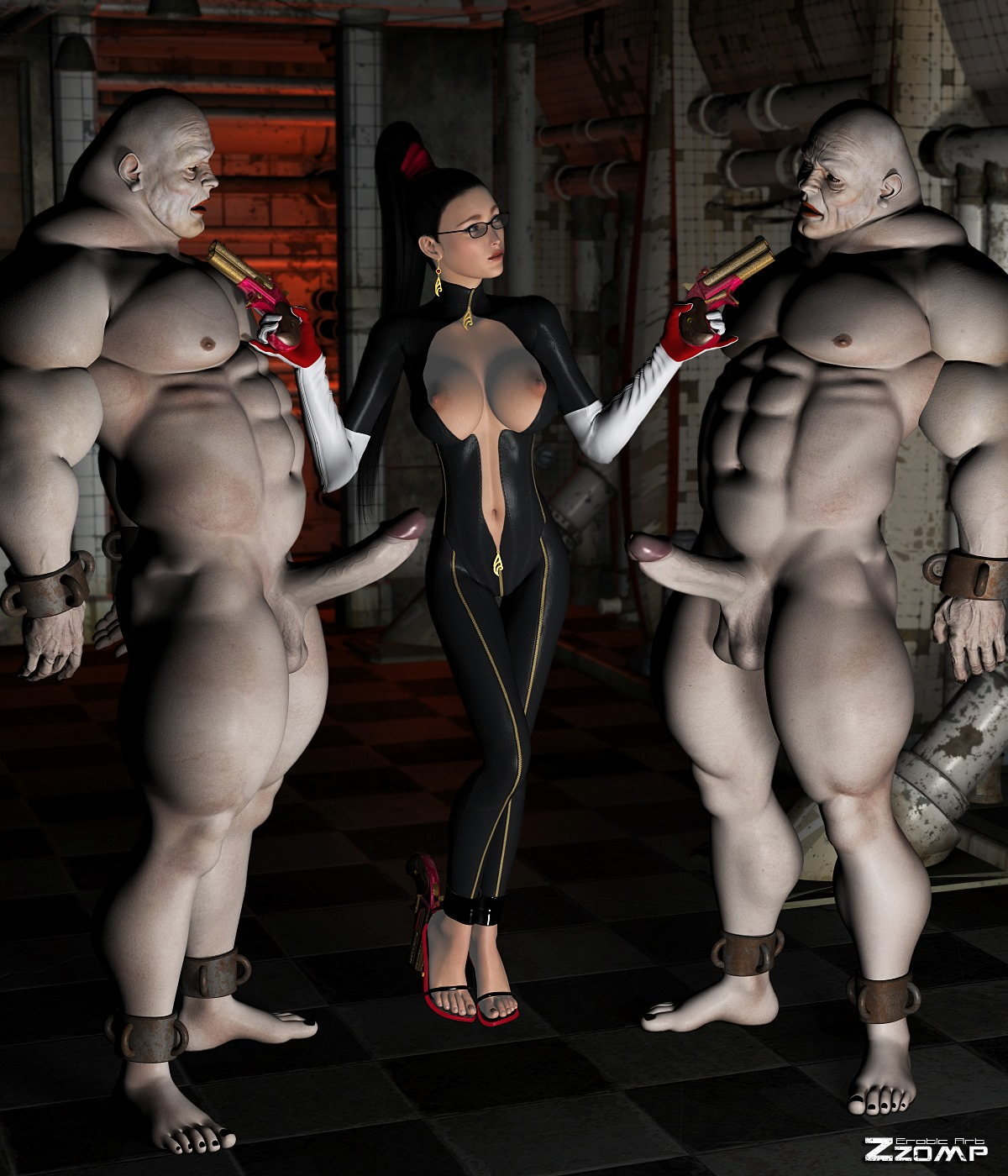 ZZomp- Bayonetta Pleasing Demons porn comics 8 muses