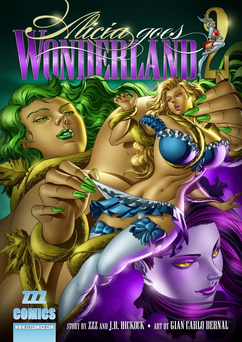 ZZZ- Alicia Goes Wonderland 2 porn comics 8 muses