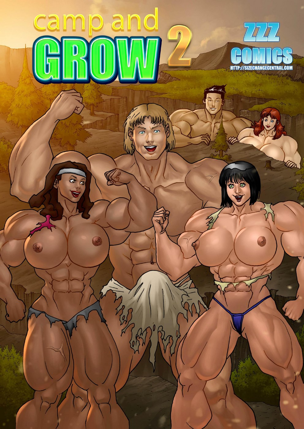 ZZZ- Camp and Grow issue 2 porn comics 8 muses