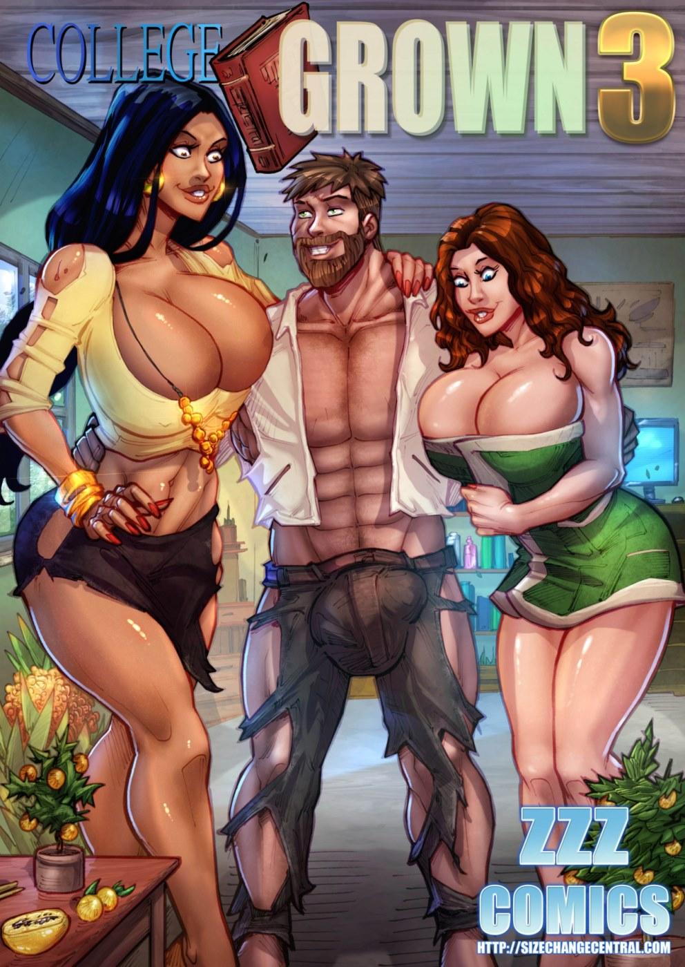 ZZZ- College Grown 3 porn comics 8 muses