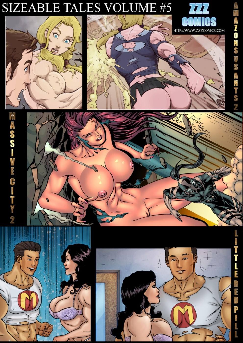 ZZZ- Sizeable Tales 5 porn comics 8 muses