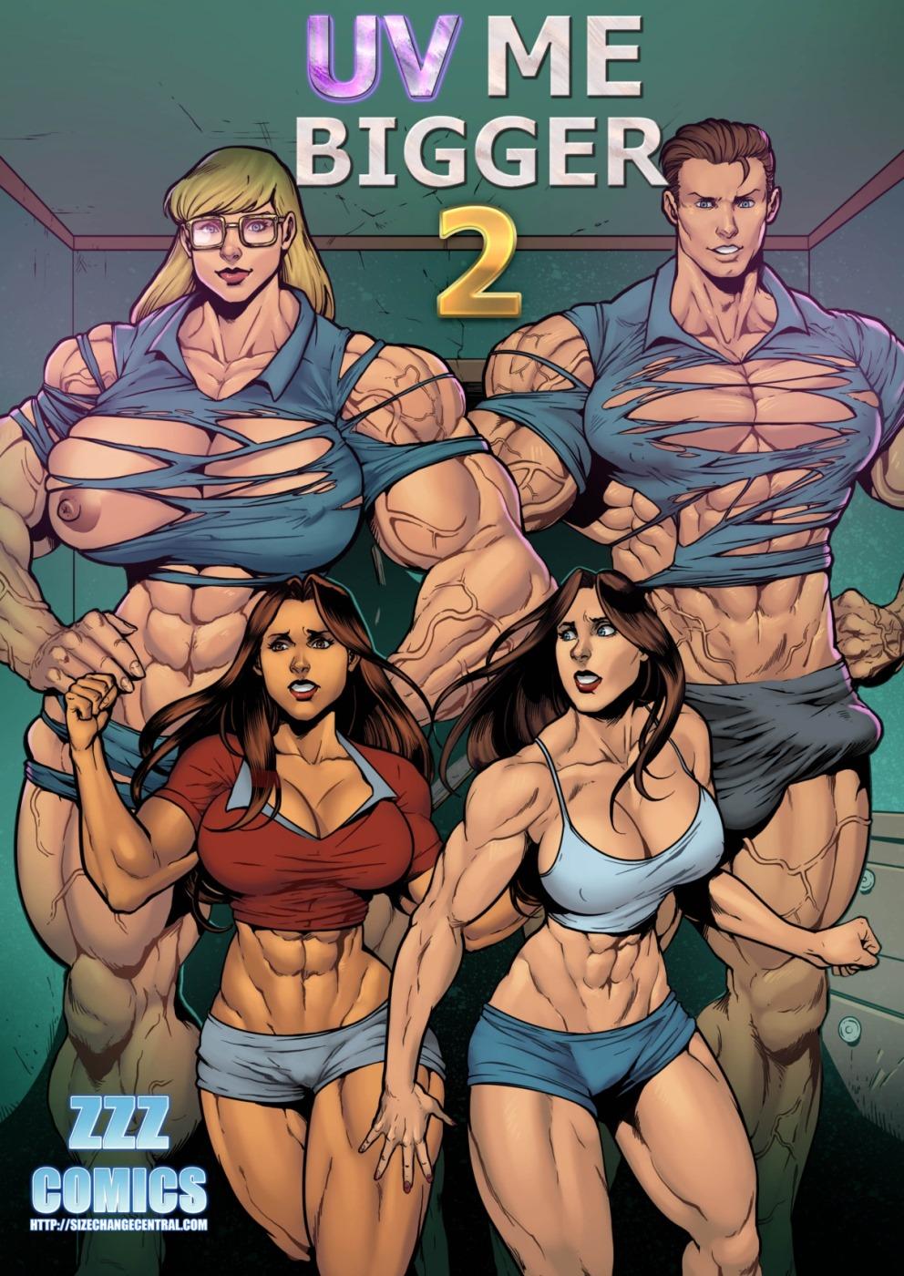ZZZ- UV Me Bigger 2 porn comics 8 muses
