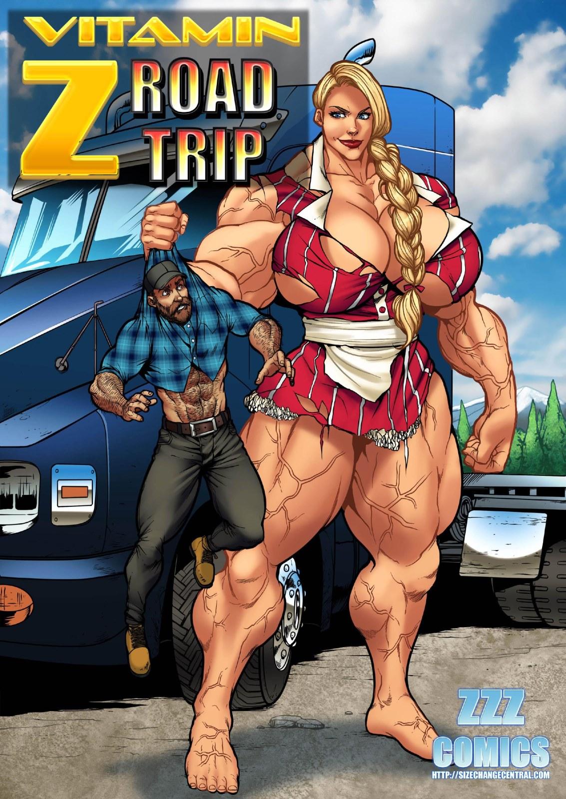 ZZZ- Vitamin Z Road Trip porn comics 8 muses